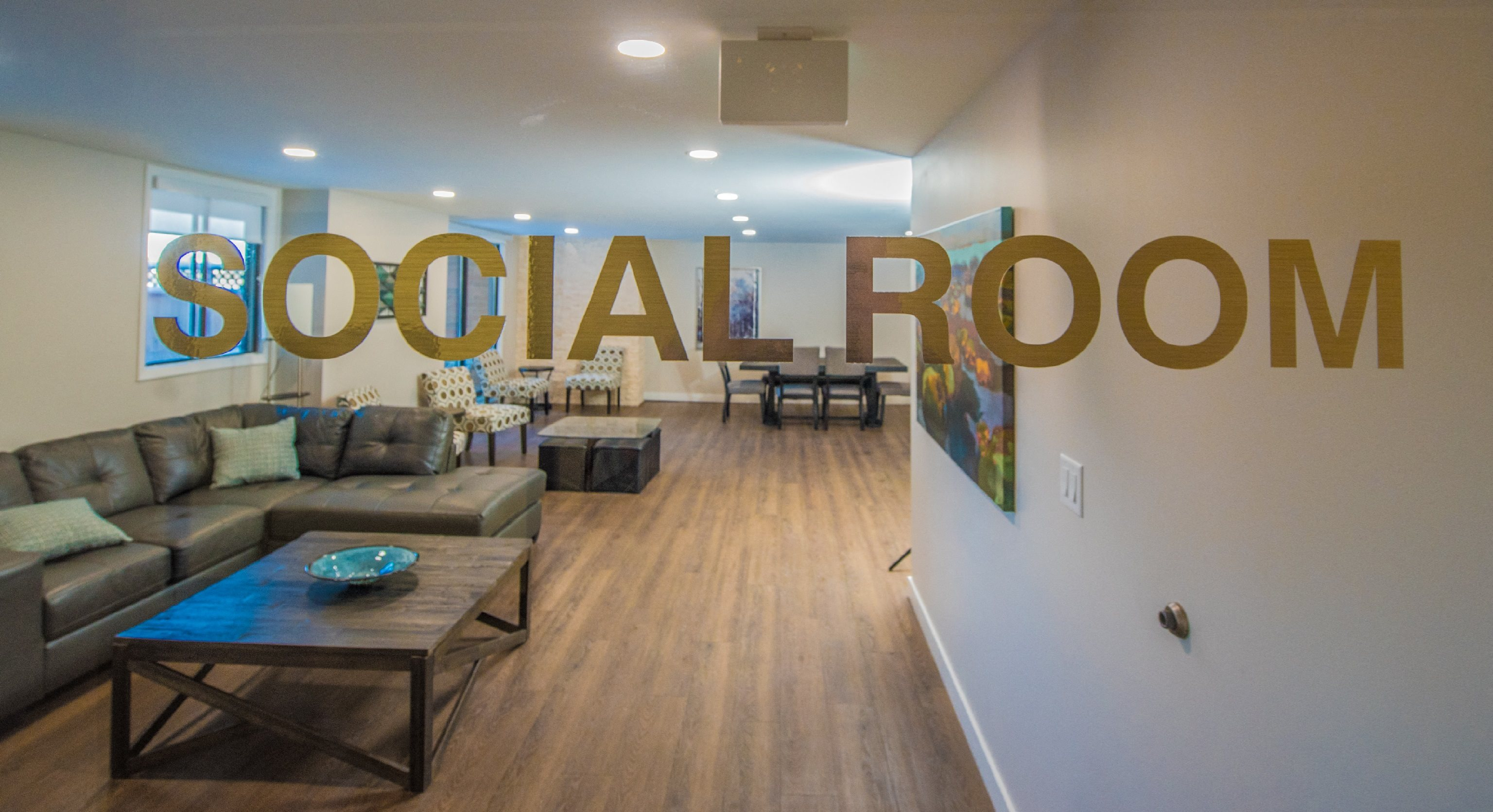 Enjoy Our New Social Room