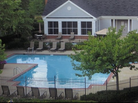 Poolside and Club Hous at Ashford Meadows Apartments for rent In Herdon VA