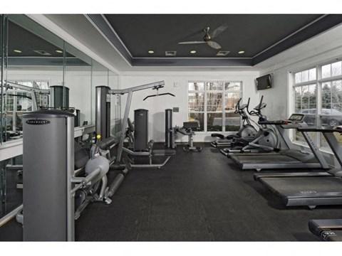 Gym Equipment Area