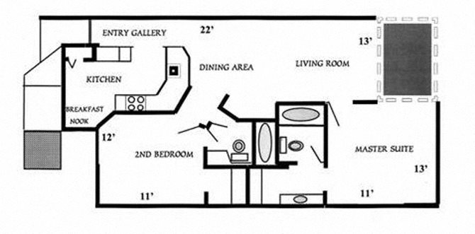Captiva Floor Plan 2