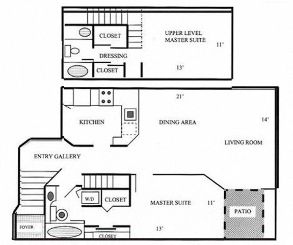 Edgewater (Townhome) Floor Plan 3