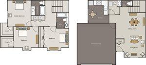 Deerfield Townhomes - 3 Bedroom 2.5 Bath Townhome