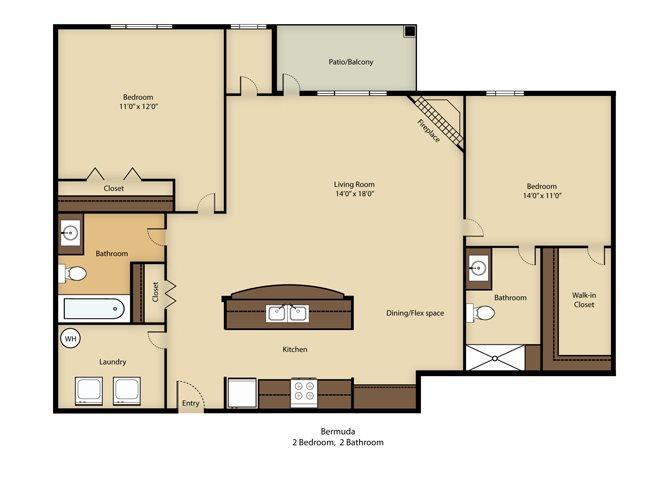 Bermuda Floor Plan 2