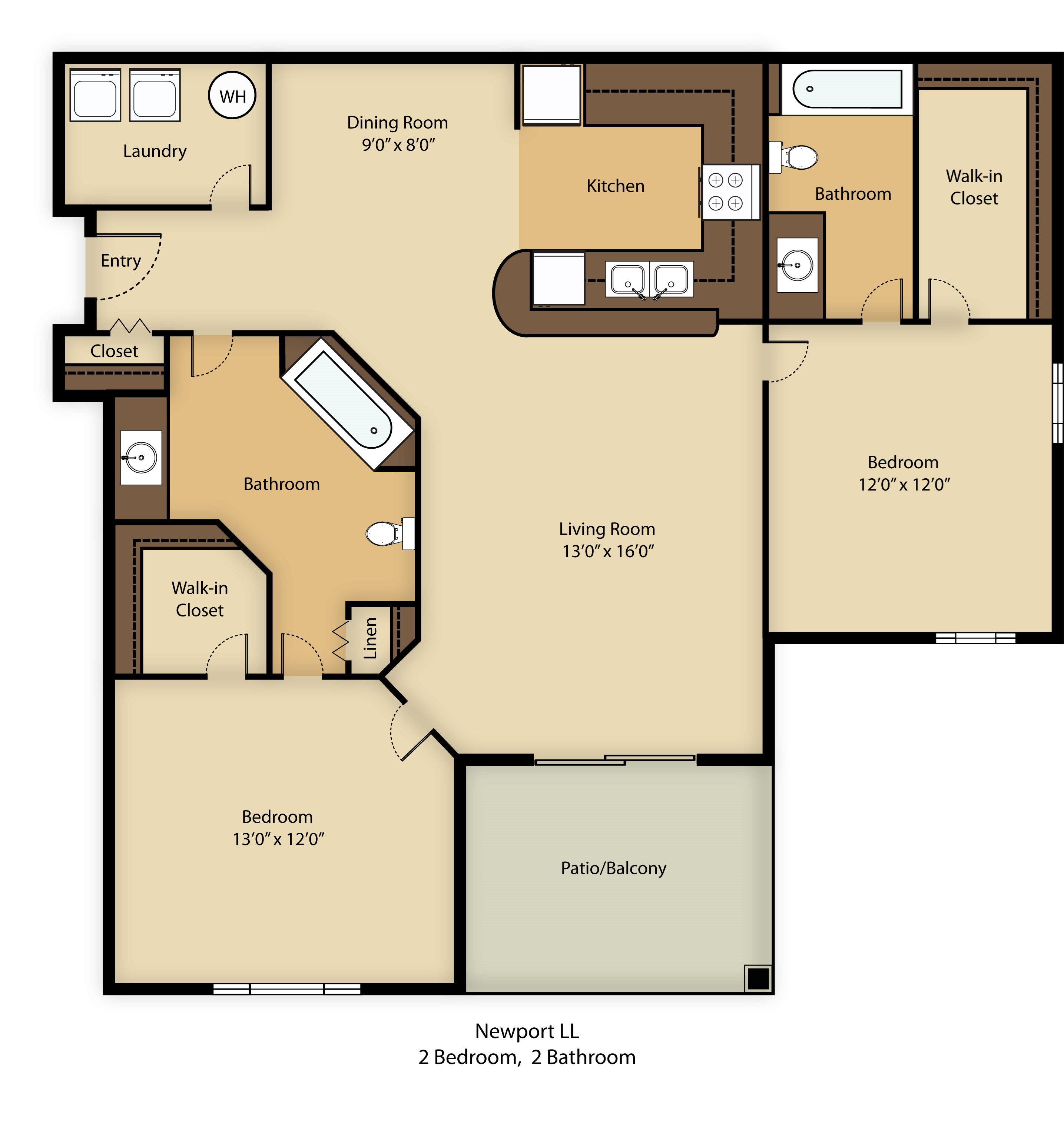 Newport Floor Plan 3