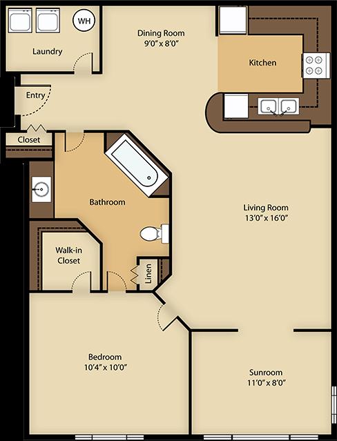 Avalon with Loft Floor Plan 2