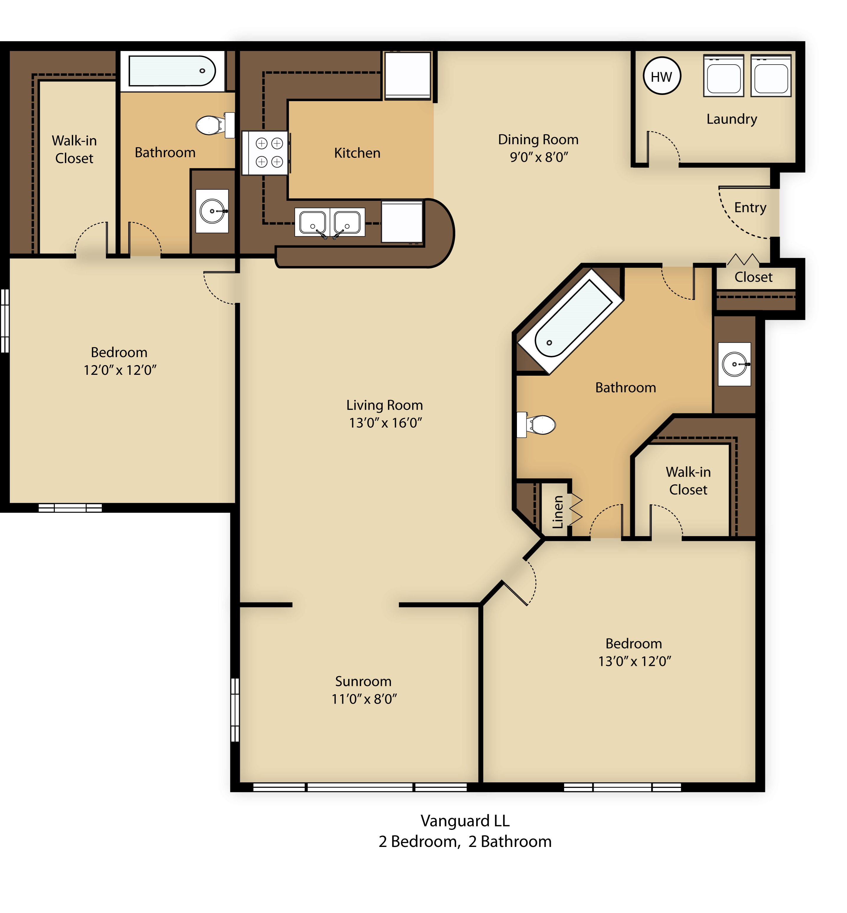 Vanguard with Loft Floor Plan 4
