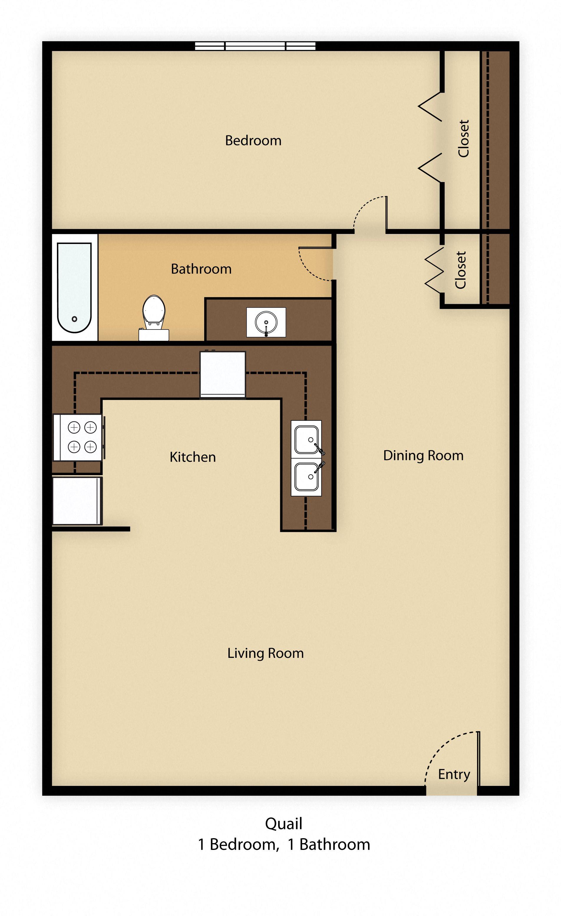 Quail Floor Plan 1