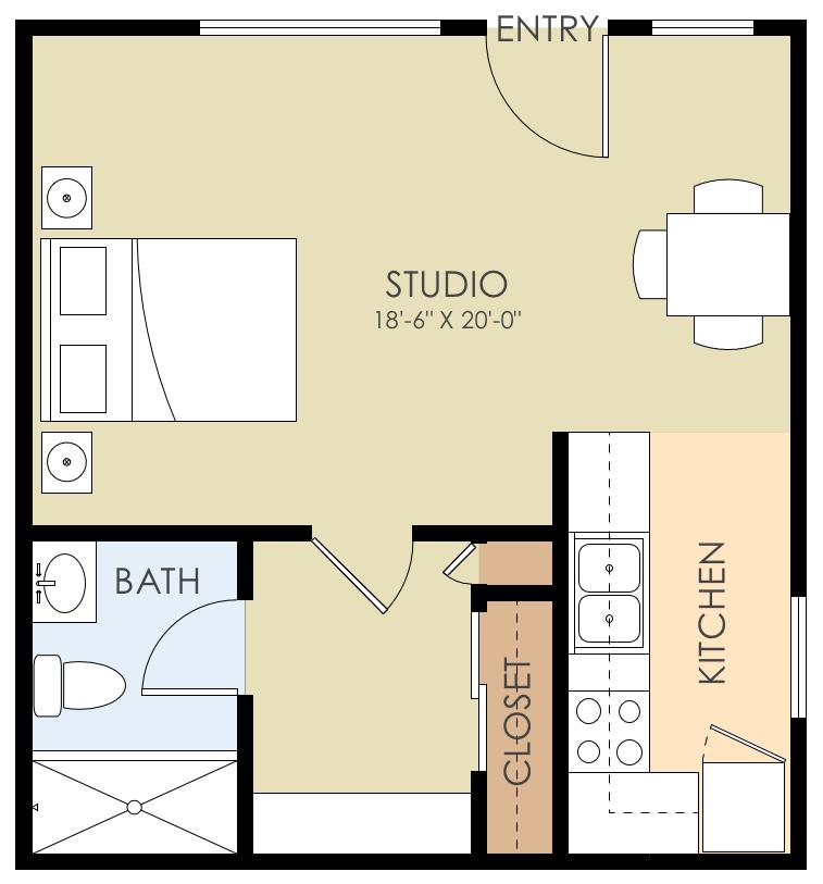 Live Oak Apartments: Floor Plans Of Live Oak Avenue Apartments In Menlo Park, CA