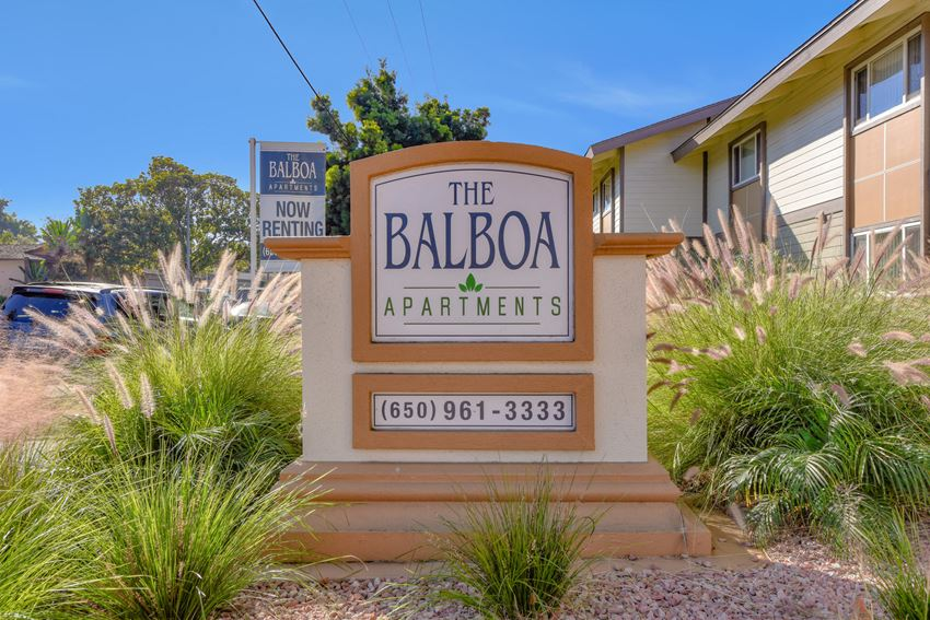 Welcoming Property Signage at Balboa, Sunnyvale, CA, 94086
