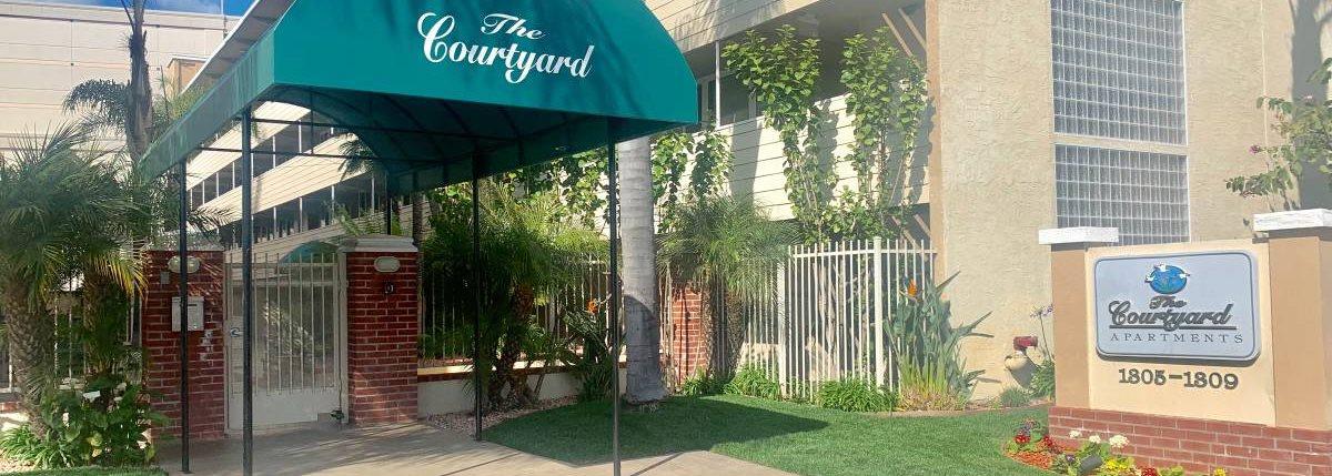 Property Signage at Courtyard, California, 94063