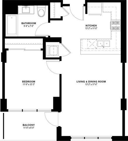 1D Floor Plan 7