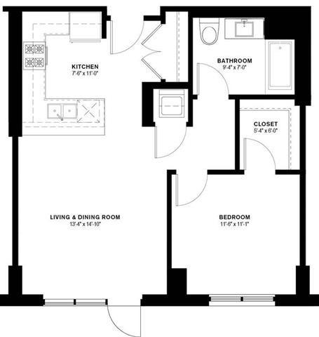 1E Floor Plan 8