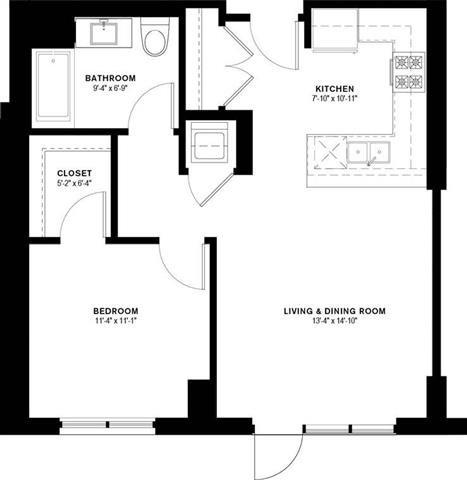1F Floor Plan 9
