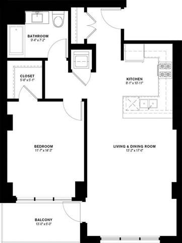1J Floor Plan 13