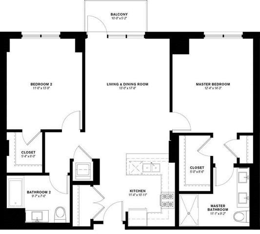 2B Floor Plan 14