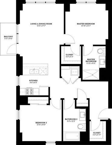 2D Floor Plan 16