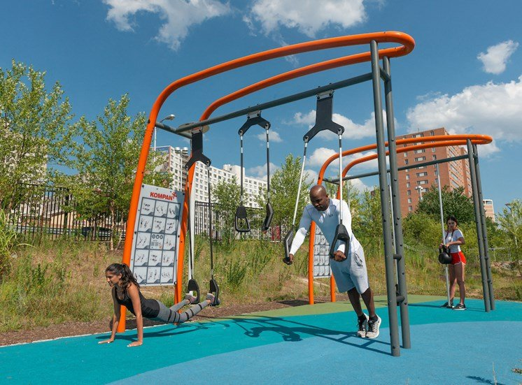 Outdoor Fitness at The Blairs, Maryland, 20910