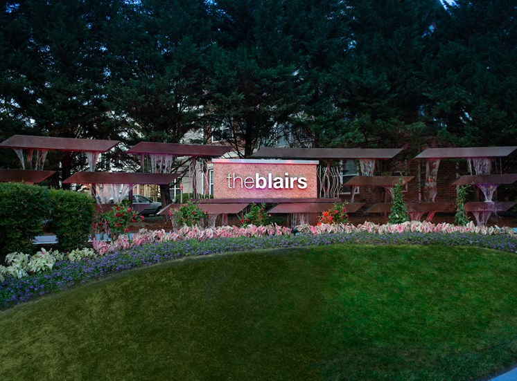 Beautiful Planter Combinations at The Blairs, Maryland, 20910