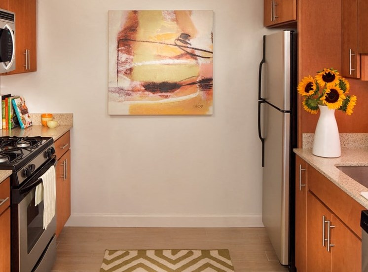 Sleek Interior Finishes at The Blairs, Silver Spring, Maryland