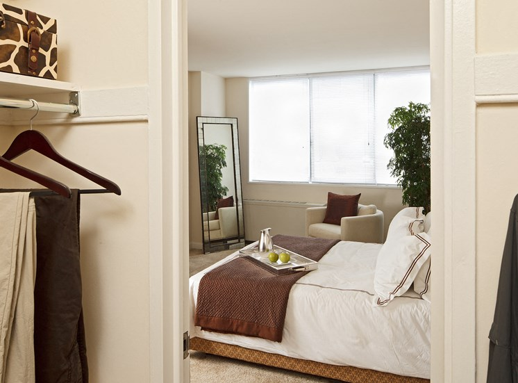 The Blairs Apartments Bedroom