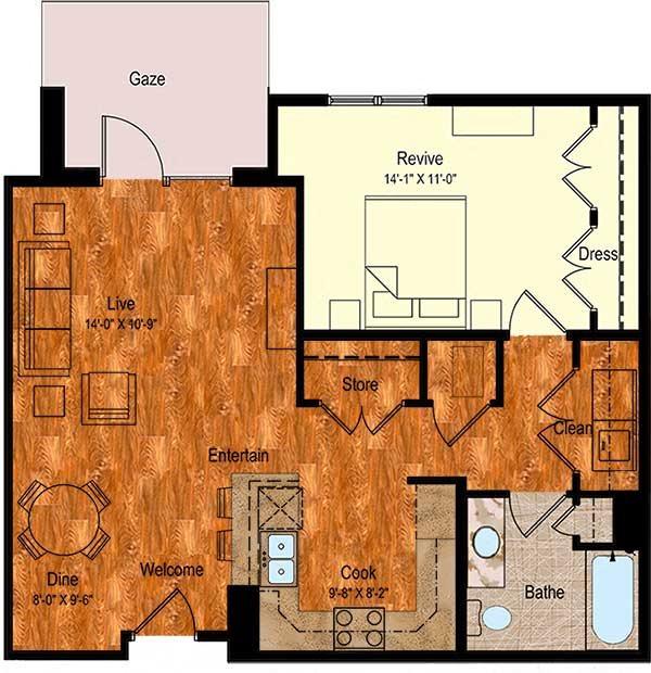 A-2 Floor Plan 8