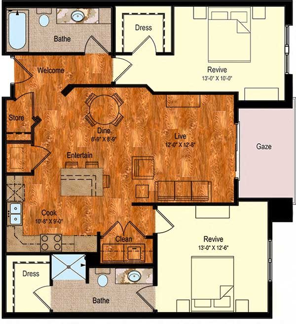 B-5 Floor Plan 17