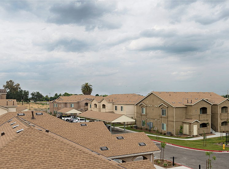 The Grove Apartments Lemoore Aerial View