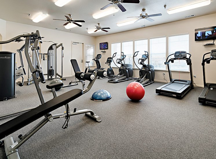 Our Gym at The Grove Apartments in Lemoore
