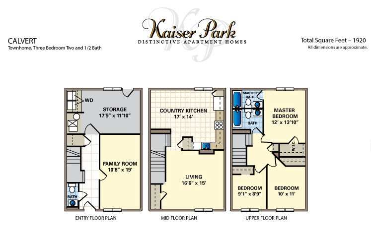 Calvert Floor Plan 1
