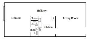 1 Bedroom Unit Plan A