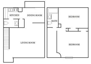 Colony Apartments 2 Bedroom
