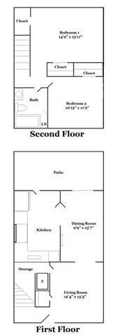 2 Bedroom Plan A