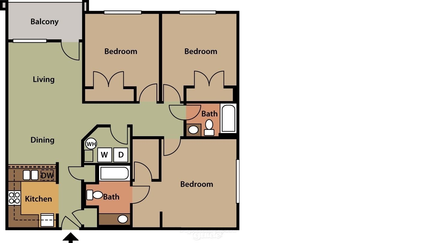 The Windsor Floor Plan 1