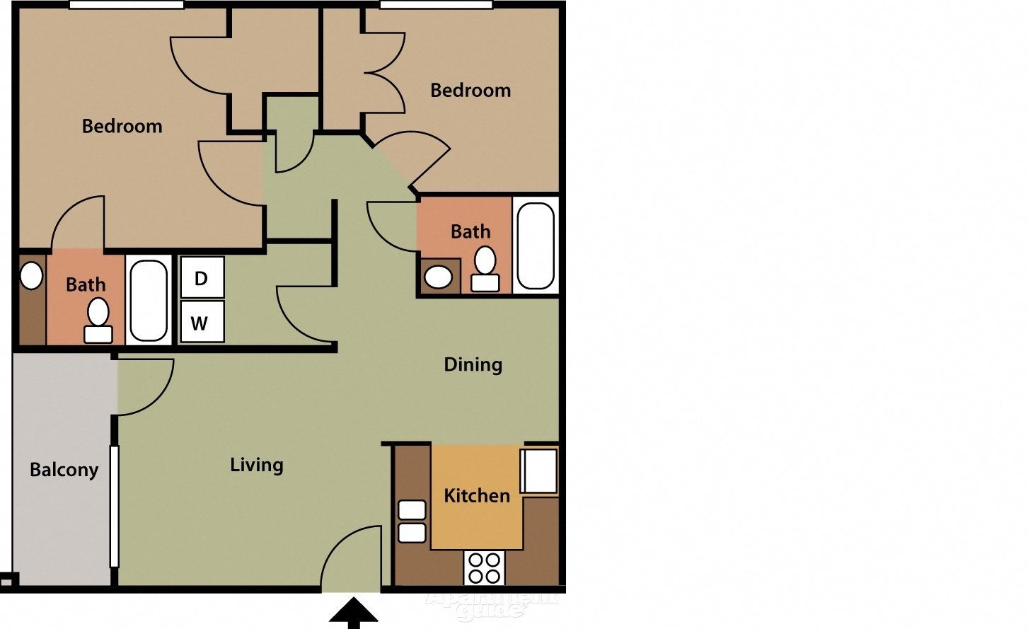The Norwick Floor Plan 4