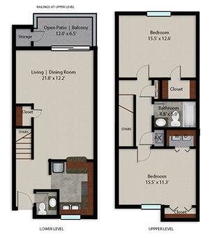 Palmera Pointe Coconut Palm Floor Plan