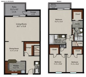 Palmera Pointe King Palm Floor Plan