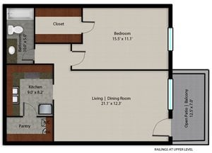 Palmera Pointe Palmetto Palm Floor Plan