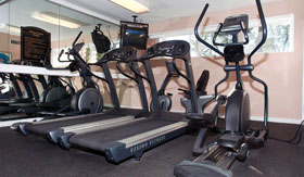 Fitness Center at Cedar Trace Apartments in Maryland Heights