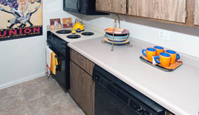 Kitchen of Apartments in Maryland Heights