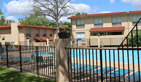 Pool at Apartments in Maryland Heights