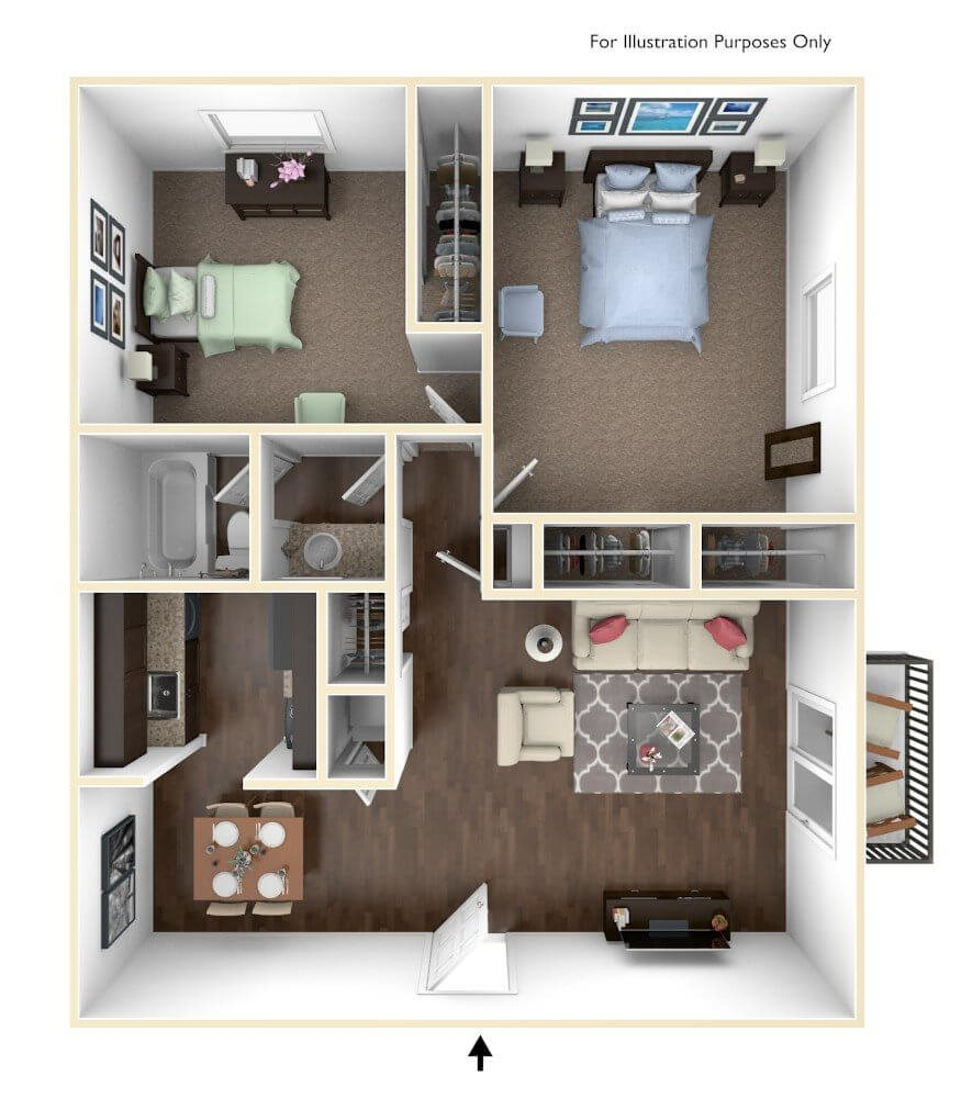 Www Apts Com: Cedar Trace Apartments In Maryland Heights, MO