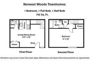 1 BR - Townhome