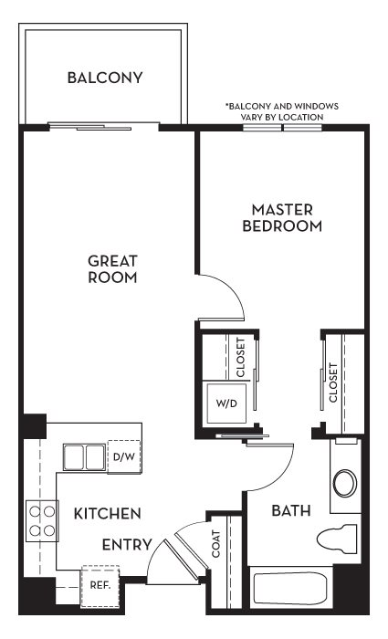 Bellevue Floor Plan 2