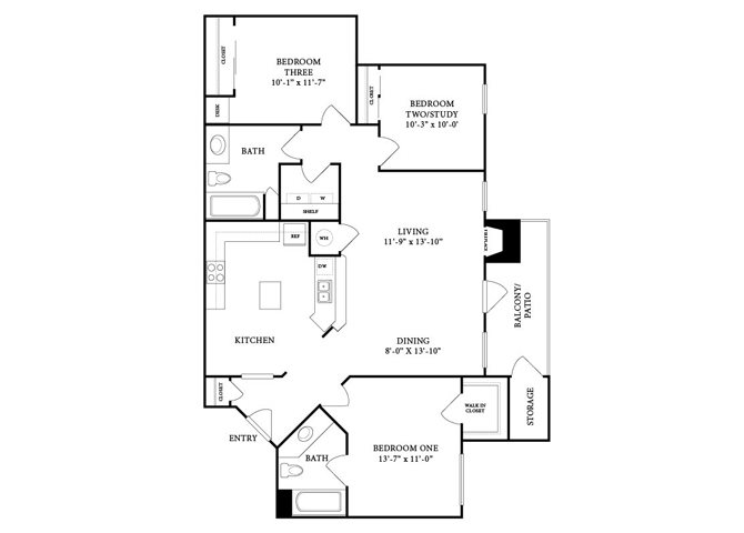 The Casa Blanca Floor Plan 5