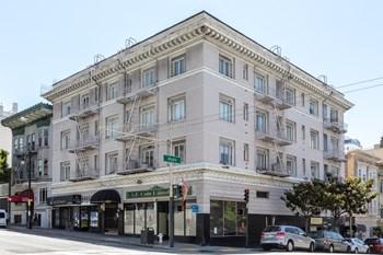 891 Post Street Studio Apartment for Rent Photo Gallery 1
