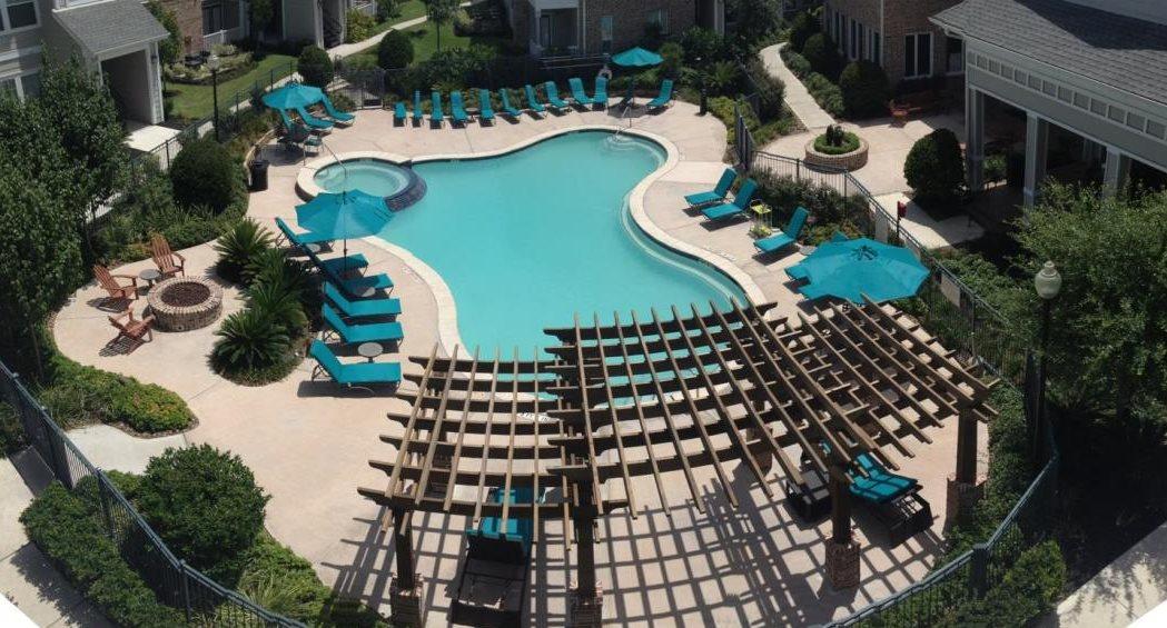 Hawthorne at Victoria's Swimming Pool Pergola | Victoria, TX