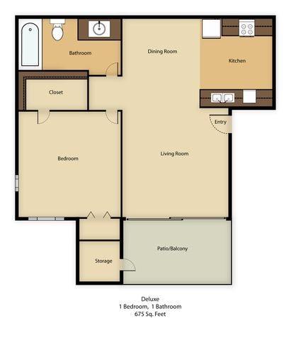 Deluxe Floor Plan 1