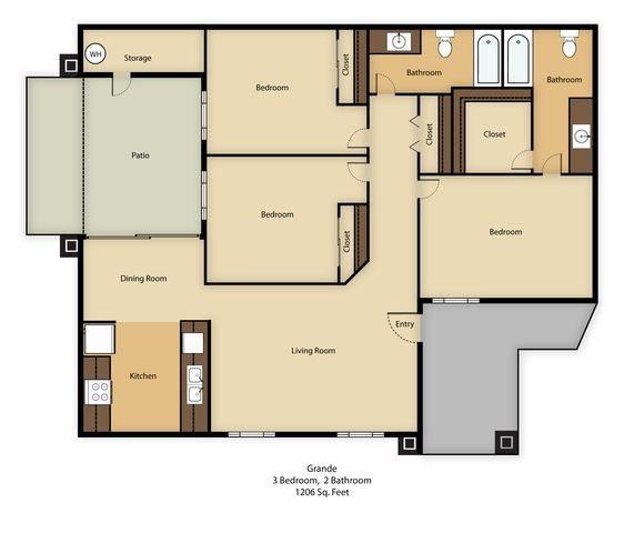 Grande Floor Plan 3