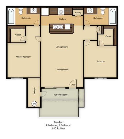 Standard Floor Plan 2