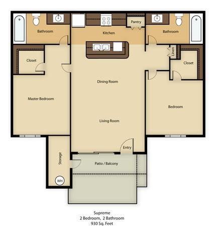Casita Floor Plan 4